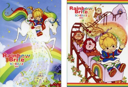 Rainbow Brite 2012 Schedule Books