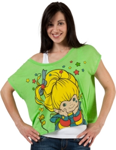 Cropped Rainbow Brite T-Shirt from 80sTees.com