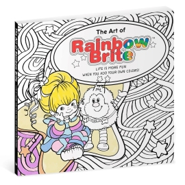 Rainbow Brite Adult Coloring Book