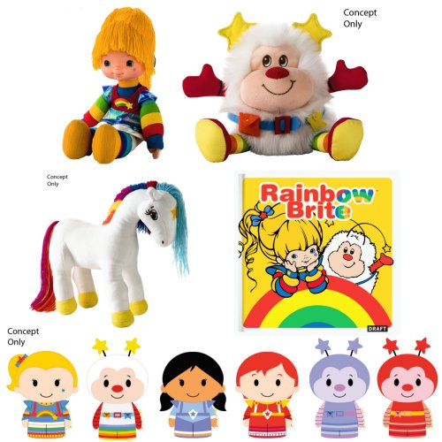 New Rainbow Brite Toys from Hallmark