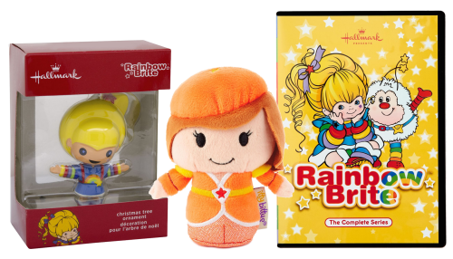 Ornament LaLa Orange itty bitty and Rainbow Brite DVD Set