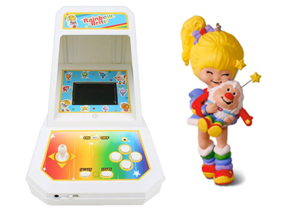 Rainbow Brite Coleco Game and Hallmark Keepsake Ornament