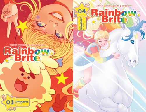 Rainbow Brite Comic Issues 3 and 4
