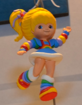 Rainbow Brite Christmas Ornament 2013