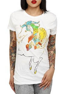 Rainbow Brite Shirt via Hot Topic