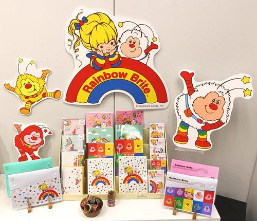 Japanese Rainbow Brite Stationary Products