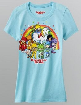 Rainbow Brite shirt at K-Mart