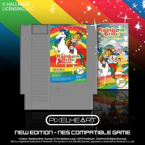 Journey to Rainbow Land NES Compatible Video Game by PixelHeart