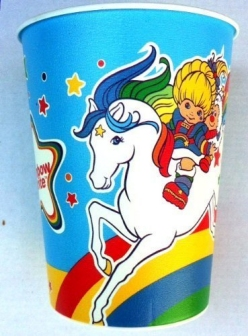 Rainbow Brite Plastic Party Cup