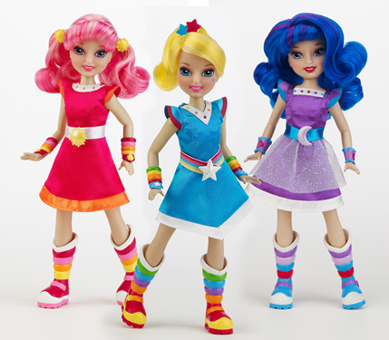 2010 Rainbow Brite Dolls by Playmates Toys