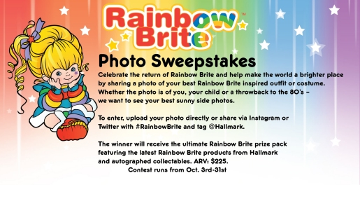 Rainbow Brite Photo Sweepstakes