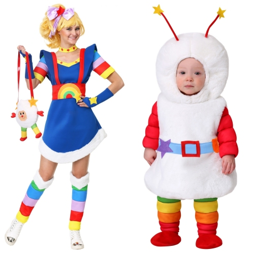 Rainbow Brite and Twink Costumes from HalloweenCostumes.com