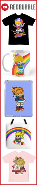 Rainbow Brite merchandise by RedBubble