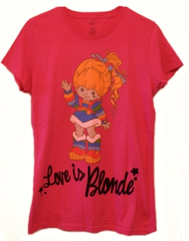 Rue 21 Love is Blonde Rainbow Brite T-Shirt