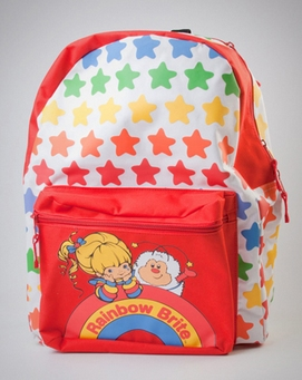 Rainbow Brite Hooded Backpack from Spencers