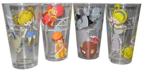 Spencers Rainbow Brite Pint Glasses