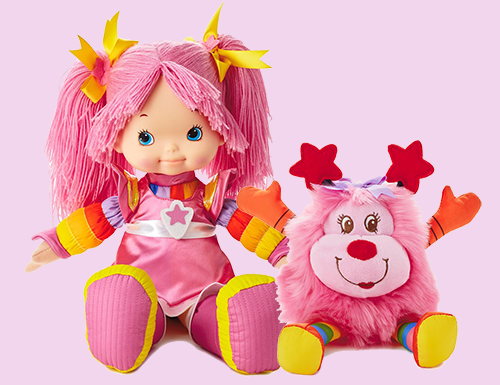 Tickled Pink and Dee Lite Sprite Dolls