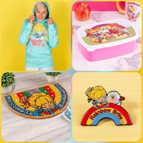New Rainbow Brite Items from Truffle Shuffle