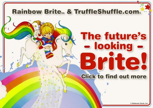 Truffle Shuffle introduces their Rainbow Brite range
