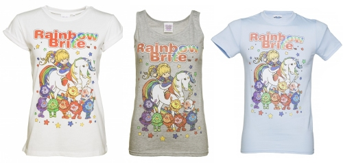 Official Women/'s Rainbow Brite Made in the 80s T-Shirt
