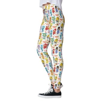 Rainbow Brite Leggings from Zazzle