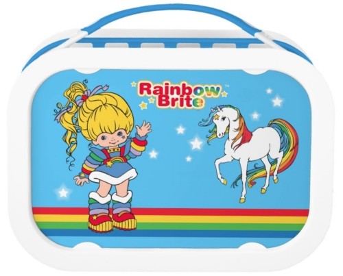 Rainbow Brite Lunchbox from Zazzle