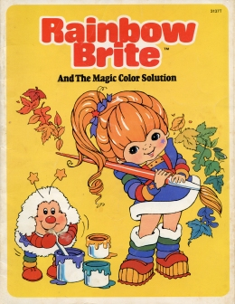 Rainbow Brite and the Magic Color Solution Book