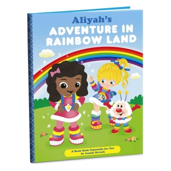 Adventure in Rainbow Land personalized book