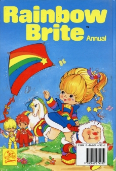 Rainbow Brite Annual Back