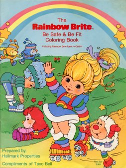 Rainbow Brite Be Safe and Be Fit