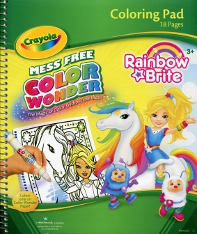 Rainbow Brite - Color Wonder Coloring Pad Paperback - RainbowBrite.net