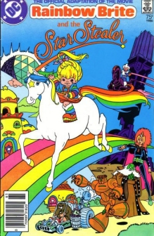 Rainbow Brite and the Star Stealer Comic Book