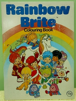 Rainbow Brite Colouring Book