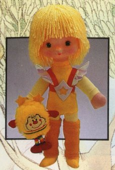 12 inch Canary Yellow Doll