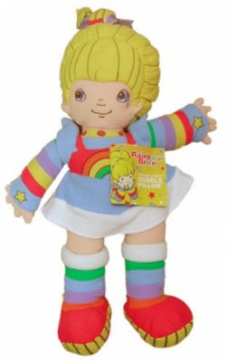Rainbow Brite Cuddle Pillow