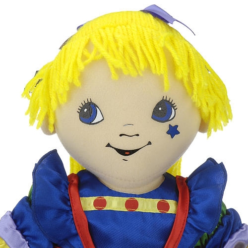 18 inch Rainbow Brite Cloth Doll by Madame Alexander
