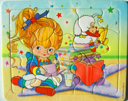 15 piece French Rainbow Brite Puzzle