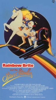 Rainbow Brite and the Star Stealer VHS Front