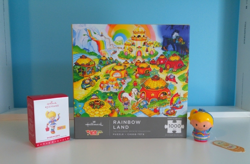 2016 Rainbow Brite Ornaments and Puzzle