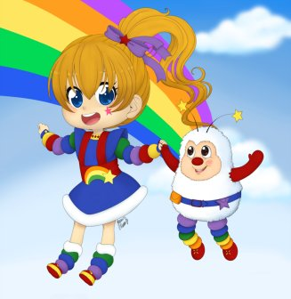 Rainbow Brite Fan Art