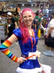 Rainbow Brite at the San Diego Comic Convention