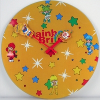Rainbow Brite Wall Clock from Spencers