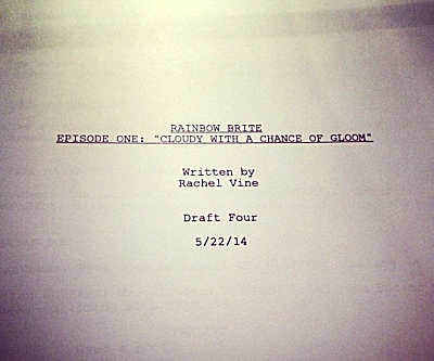 New Rainbow Brite Cartoon Script